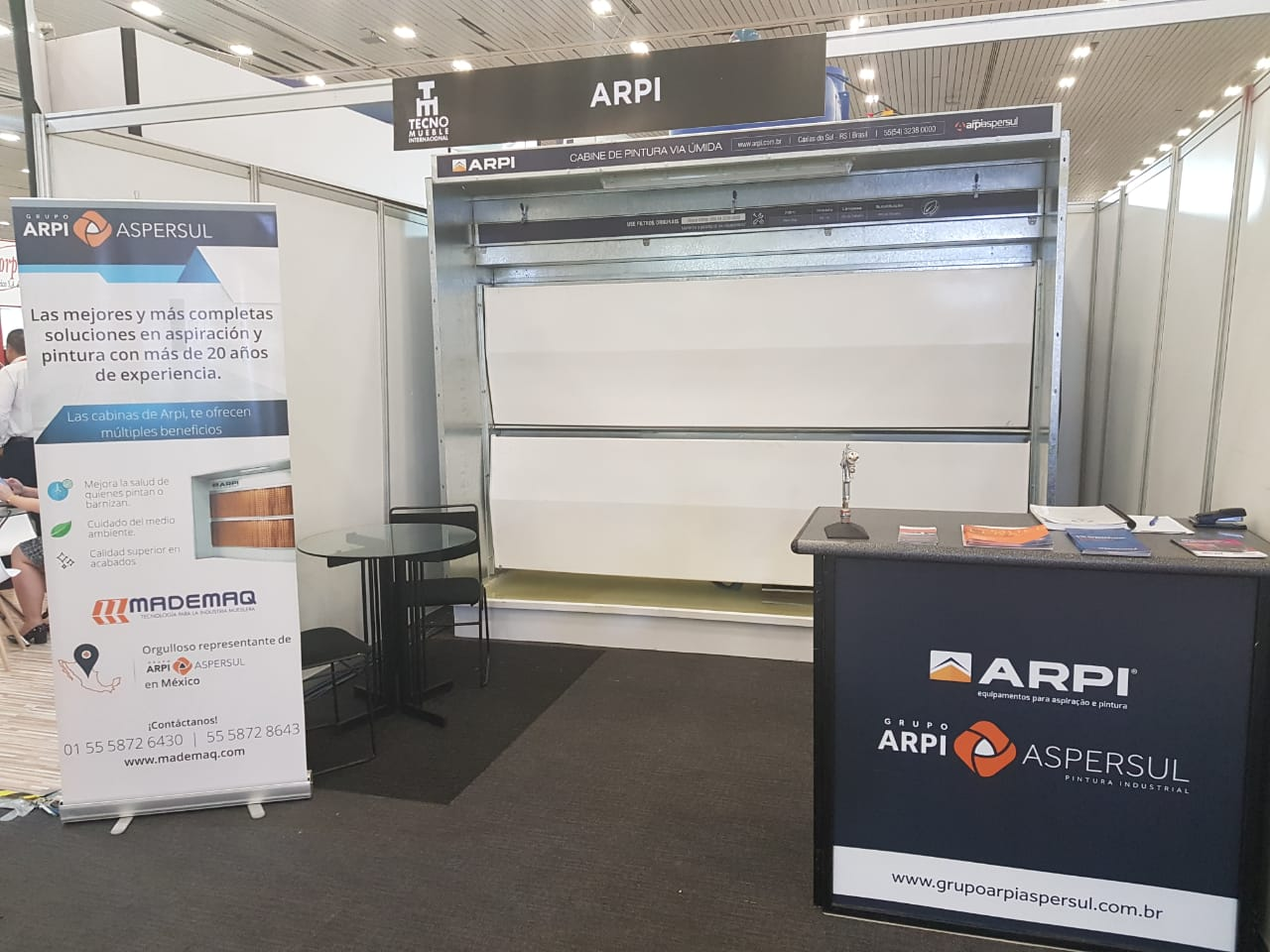 Grupo ArpiAspersul apresenta tecnologias inovadoras para o mercado moveleiro no México