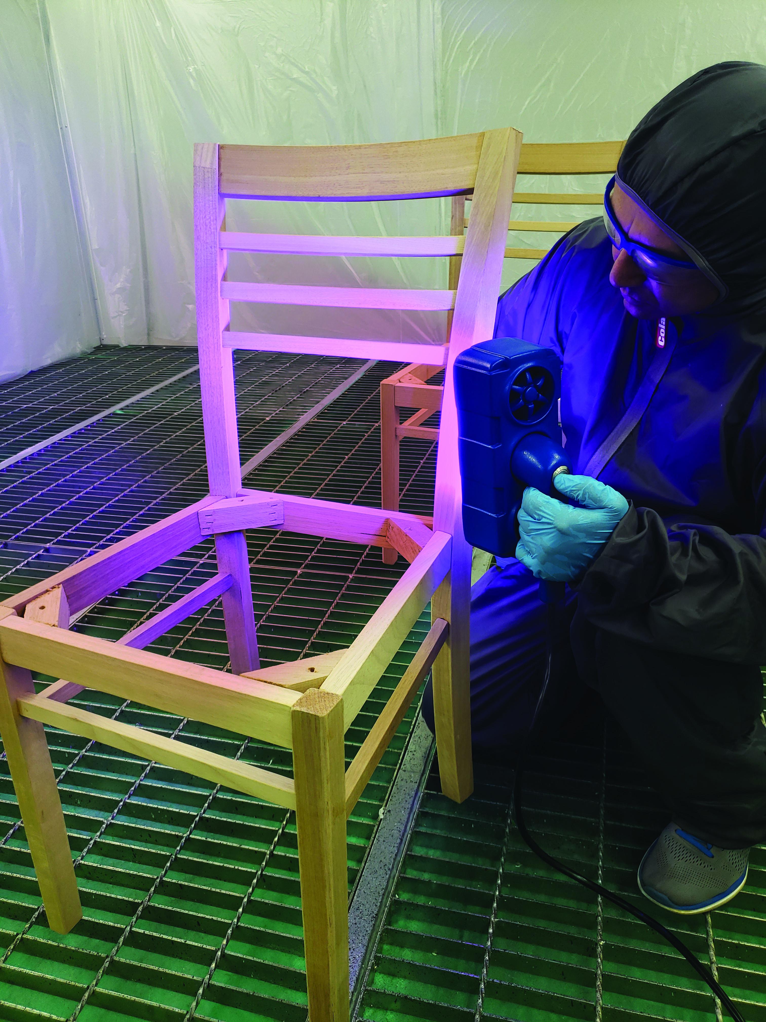 Doxa Technologies apresenta novo equipamento com a tecnologia Fast Curing System específico para uso moveleiro e industrial