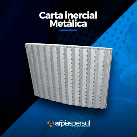 Carta Inercial Metálica